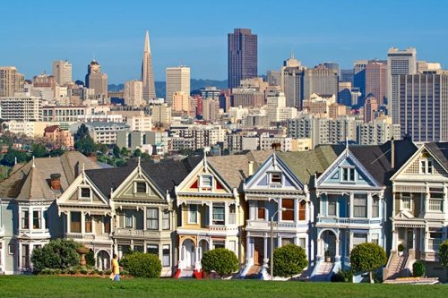 Painted Ladies San Frnacisco