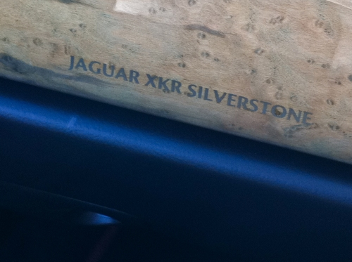Jag XKR Silverstone