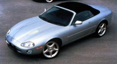Jag XKR Roof Up